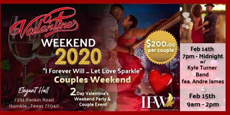 I Forever Will... Let Love Sparkle Couples Weekend tickets