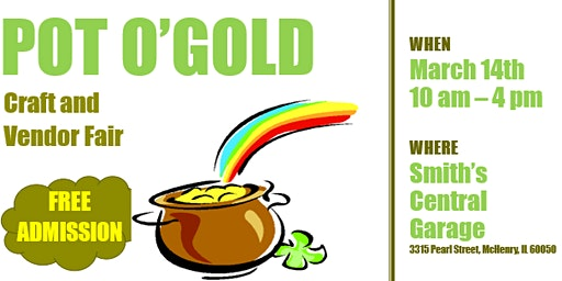 Pot O'Gold Craft and Vendor Fair