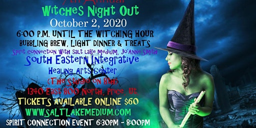 "2020 HALLOWEEN TREAT LIVE ""SPIRIT CONNECTION"" EVENT WITH SALT LAKE MEDIUM, JO'ANNE SMITH"