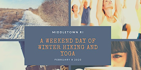 Winter Hiking and Yoga tickets