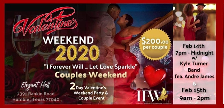 I Forever Will... Let Love Sparkle Couples Weekend image
