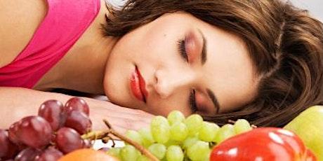 Formation en somnothérapie: Se nourrir pour dormir  2 billets
