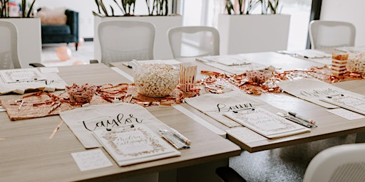 Wine-Down with Modern Calligraphy @ Kings River Winery
