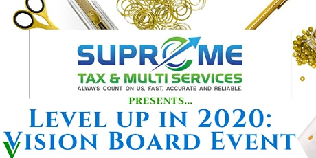 Level Up in 2020: Vision Board Event tickets