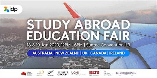 IDP Singapore - Study Abroad Education Fair January 2020