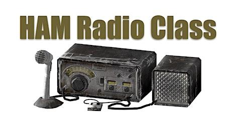 Ham Radio Licensing Class tickets