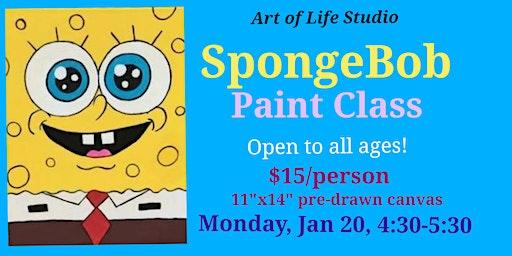Paint Class: SpongeBob