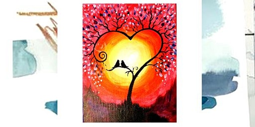 Valentines paint and sip at Flood Valley Taphouse Chehalis
