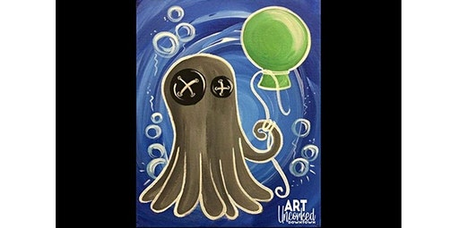 ALL AGES Class -  An Octo and His Balloon!  (01-25-2020 starts at 1:00 PM)