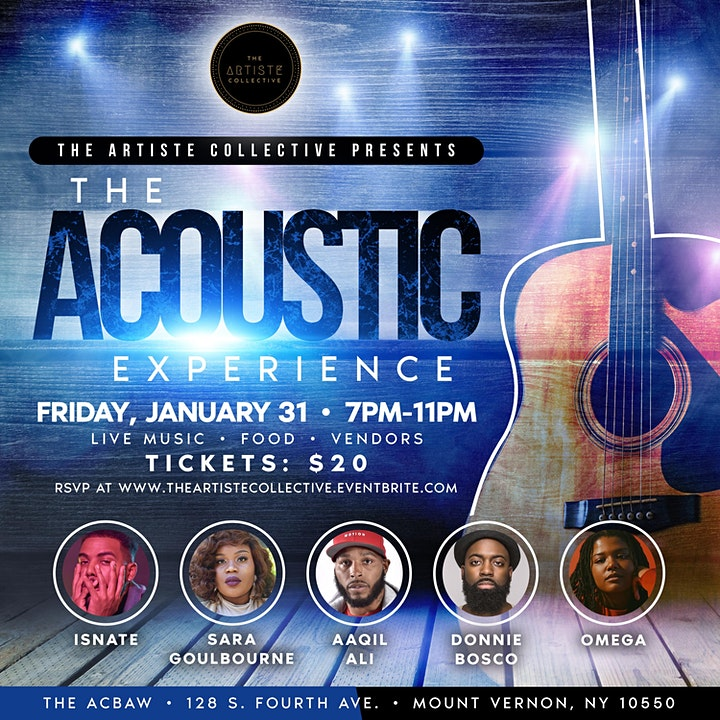 The Artiste Collective Presents: The Acoustic Experience image
