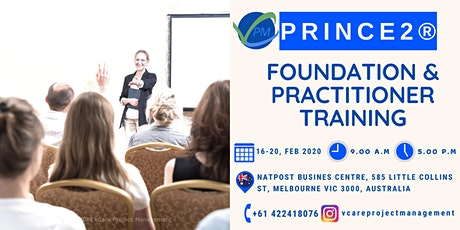 Prince2 Foundation and Practitioner | Course | February | 2020 | Melbourne tickets