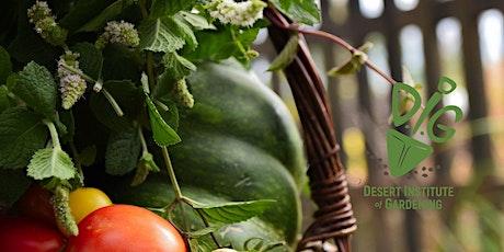 Desert Institute of Gardening: Urban Farm Livestock Helps Food Productivity tickets