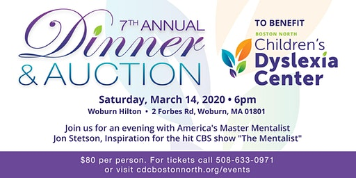 "7th Annual Dinner & Auction Featuring ""America's Mentalist"" Jon Stetson"