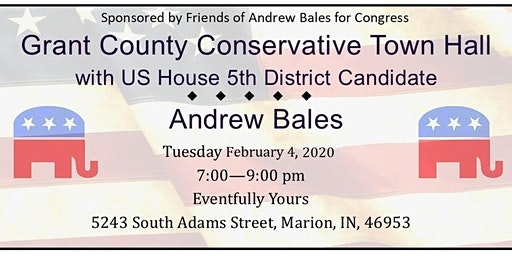 Grant County Conservative Town Hall with US House Candidate Andrew Bales