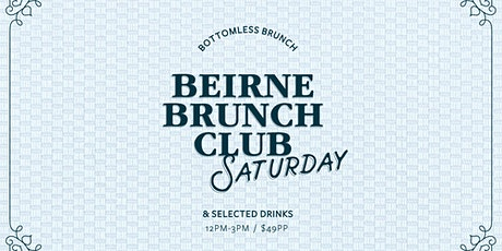 Beirne Brunch Club 1st February tickets