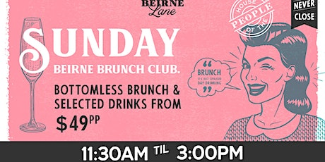 Beirne Brunch Club 1st March tickets