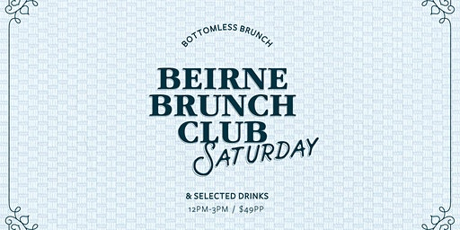 Beirne Brunch Club 4th April