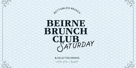 Beirne Brunch Club 16th May tickets