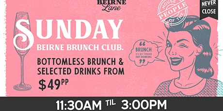 Beirne Brunch Club 31st May tickets