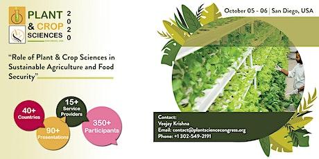 Plant and Crop Sciences 2020 | San Diego, USA entradas