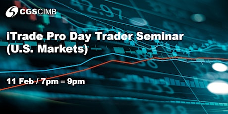 iTrade Pro Day Trader Seminar (U.S. Markets) tickets