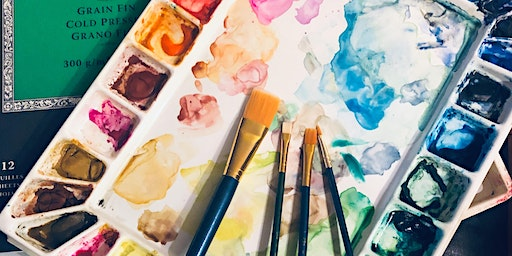 Celebrate Love ❤️ Watercolor painting class