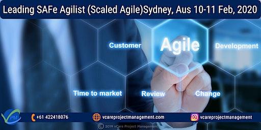 SAFe Scaled Agile Certification | Training | Course | Sydney | 2020.