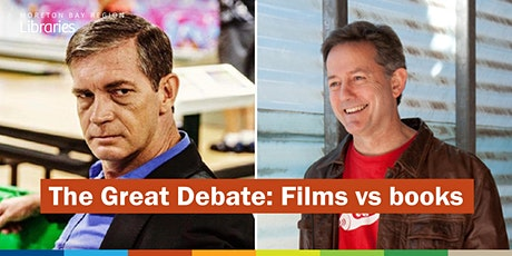 CANCELLED - The Great Debate: Films vs Books - Redcliffe Library tickets