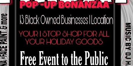 SHOP BLACK POP-UP BONANZAA  tickets