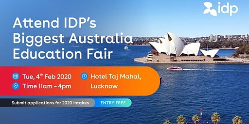 Attend IDP's Australia Education Fair 2020 in Lucknow