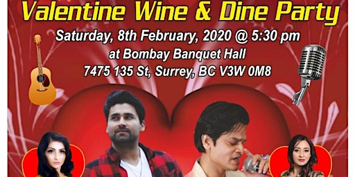 Valentine Wine & Dine Party