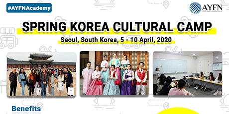 Spring Korea Cultural Camp 2020 tickets