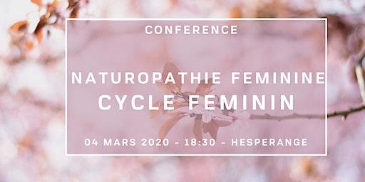 Naturopathie féminine: le cycle féminin