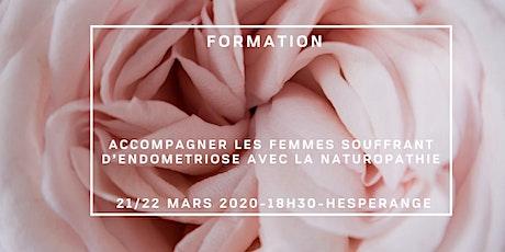 FORMATION EN NATUROPATHIE FEMININE: ACCOMPAGNER L'ENDOMETRIOSE tickets
