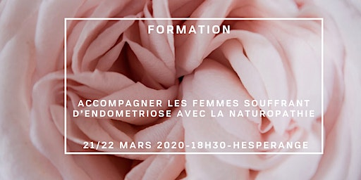 FORMATION EN NATUROPATHIE FEMININE: ACCOMPAGNER L'ENDOMETRIOSE