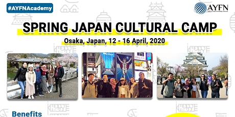 Spring Japan Cultural Camp 2020 tickets