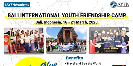 Bali International Youth Friendship Camp 2020 tickets