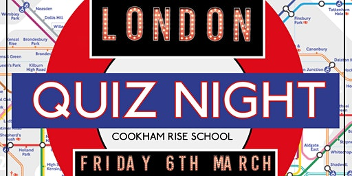 Cookham Rise School - London Quiz Night