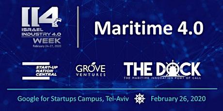 Maritime 4.0 tickets