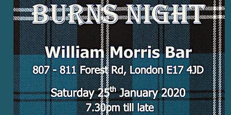 Burns Supper tickets