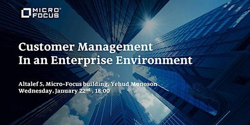 Customer Management In an Enterprise Environment