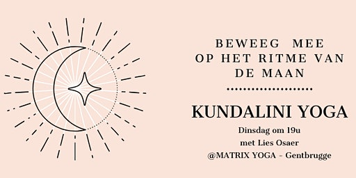 Yoga op het ritme van de maan (Kundalini) met Lies Osaer