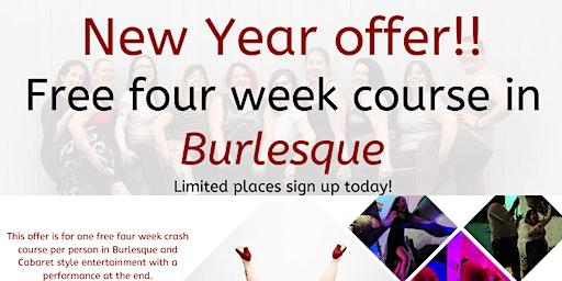 Free Burlesque course