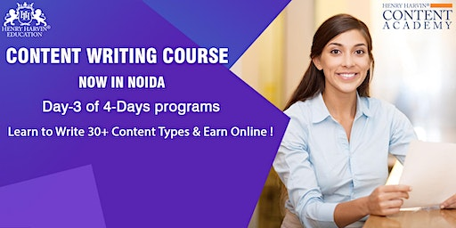 Day-3 Content Writing Course in Noida
