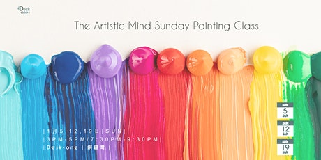 The Artistic Mind Sunday Painting Class tickets