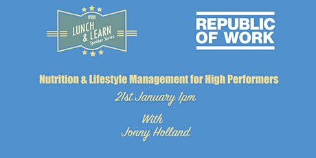 Nutrition & Lifestyle Management for High Performers tickets