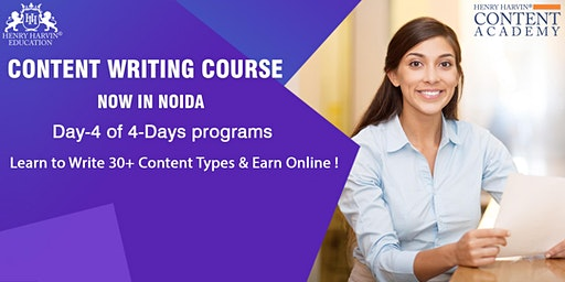 Day-4 Content Writing Course in Noida