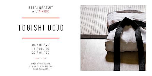 Essai gratuit d'Aïkido à Soignies