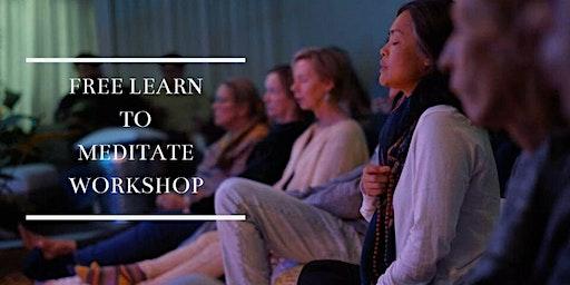 Learn to Meditate Workshop
