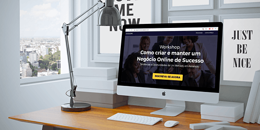 Workshop - Como Criar e Manter um Negócio Online de Sucesso